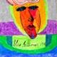 En abstrakt målning av ett ansikte